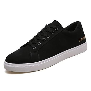 100% Vero Per Uomo Scarpe Comfort Pu (poliuretano) Primavera Sneakers Bianco - Nero - Rosso #07115903