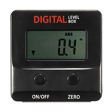 voordelige Test-, meet- & inspectieapparatuur-delen om nieuwe digitale hoekzoeker gauge schuine doos gradenboog inclinometer waterpas