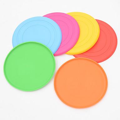 abordables Vêtements & Accessoires pour Chat-Frisbees Compatible avec animaux de compagnie Silicone Pour Chiens