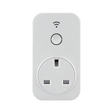 Prise de Courant Fonction de synchronisation / Contrôlez votre appareil de n'importe où 1pc Matériel spécial Prise Wi-Fi activé / APP / iOS7.0 Amazon Alexa Echo