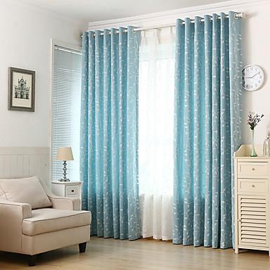 Bene Paese Vita Privata Due Pannelli Sala Studio - Ufficio Curtains - Ricami #07130827 I Colori Stanno Colpendo