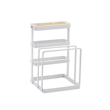 Realistico Organizzazione Della Cucina Scaffalature - Portacenere Metallo Contenitore - Facile Da Usare 1pc #07130190 Delizie Amate Da Tutti