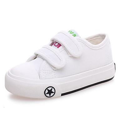 בנים נעליים קנבס קיץ & אביב נוחות נעלי ספורט ל ילדים / מתבגר שחור / כחול כהה / אדום