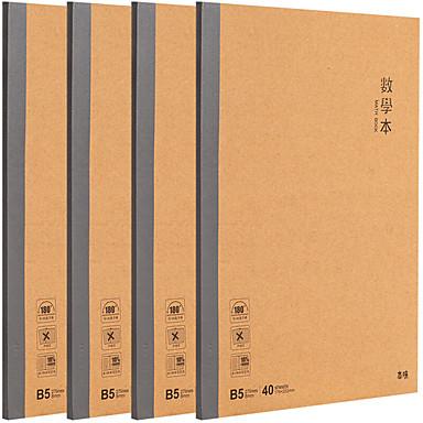 Ragionevole 4 Pacco M&g Mpyjpk89 Notebook Bond Perfetto 40 Lenzuola B5 #07131865 Processi Di Tintura Meticolosi