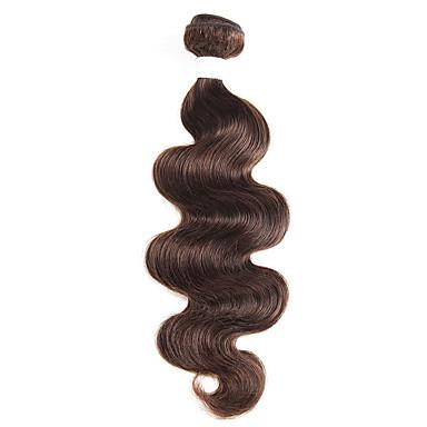 baratos Extensões de Cabelo Natural-1 pacote Cabelo Brasileiro Onda de Corpo Cabelo Natural Remy Extensões de Cabelo Natural 10-26 polegada Tramas de cabelo humano Macio Melhor qualidade Nova chegada Extensões de cabelo humano Mulheres