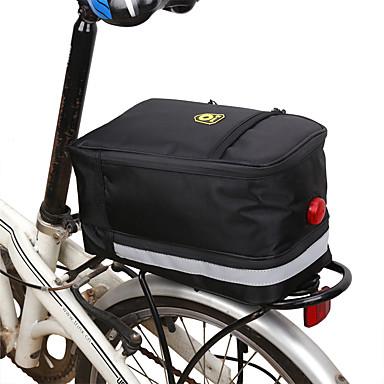 abordables Sacoches de Vélo-B-SOUL 8 L Sacs de Porte-Bagage Etanche Portable Vestimentaire Sac de Vélo Tissu Oxford Sac de Cyclisme Sacoche de Vélo Cyclisme Activités Extérieures Vélo Cyclisme