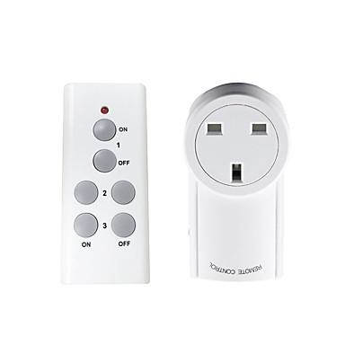 Prise intelligente Facile à Utiliser 1pc Matériel spécial Prise Télécommande