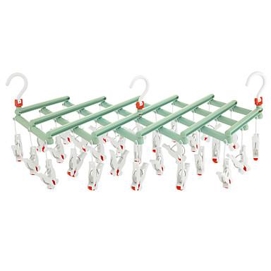 Outils / Crochets / Épaule de sous-vêtements Imperméable / Portable / Pliable Boutique / Mode Plastique 1 set - Accessoires / Nettoyage Accessoires de toilette / organisation de bain / Salle de bain
