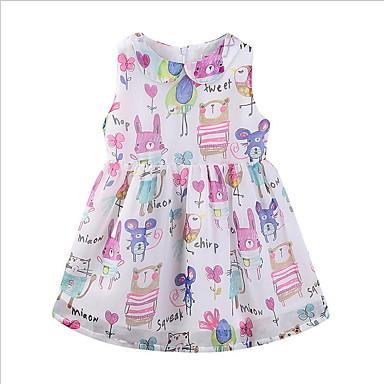 5dbfaf5865 cheap Girls  039  Dresses-Kids Girls  039  Animal Dress White