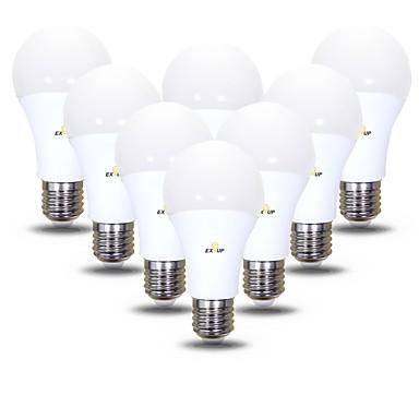 abordables Ampoules électriques-EXUP® 8pcs 15 W Ampoules Globe LED 1400 lm B22 E26 / E27 A70 42 Perles LED SMD 2835 Blanc Chaud Blanc Froid 220-240 V 110-130 V