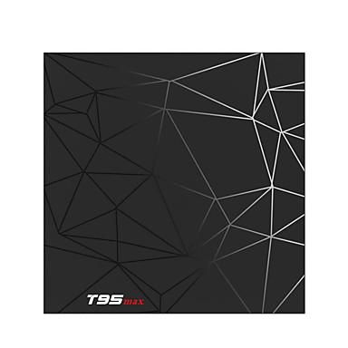 PULIERDETV BOX T95MAX Android 8.1 Cortex-A53 4GB 32GB Négymagos