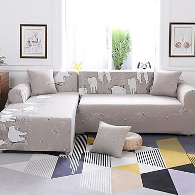 رخيصةأون غطاء-غطاء أريكة رومانسي مطبوع بوليستر الأغلفة