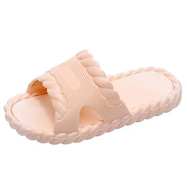 baratos Sapatos de Criança-Para Meninas PVC Chinelos e flip-flops Criança (9m-4ys) / Little Kids (4-7 anos) Conforto Verde / Azul / Rosa claro Verão