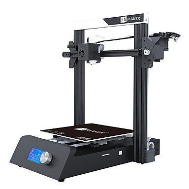 baratos Impressoras 3D & Suprimentos-jgaurora majic 3d impressora 220x220x250mm 0.4mm diy / suporte de filamento detector / suporte de recuperação de falha de energia