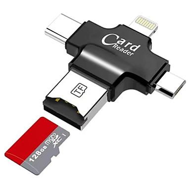 Creativo Litbest Microsd - Microsdhc - Microsdxc - Tf Usb 2.0 - Micro Usb - Illuminazione Lettore Di Schede Cellulari Android - Computer - Per Iphone #07155301