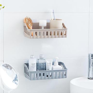 أطباق الصابون وشمعدانات كوول / محبوب / خلاق البلاستيك 1PC - حمام مثبت على الحائط