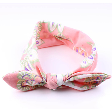 cheap Kids' Accessories-Toddler Girls' Basic / Sweet Striped Bow / Floral Style Acrylic Hair Accessories Orange / Pink / Beige One-Size