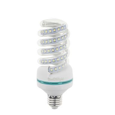 abordables Ampoules électriques-YouOKLight 1pc 20 W Ampoules Maïs LED 1600 lm E26 / E27 T 47 Perles LED SMD 2835 Blanc Chaud 85-265 V / RoHs / FCC
