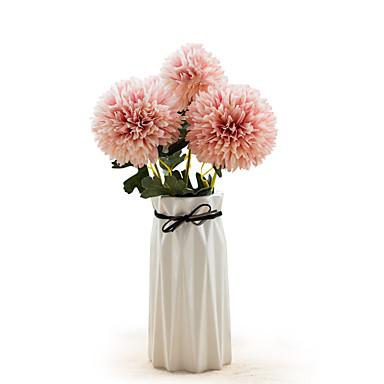 Fleurs artificielles 2 Une succursale Classique Mariage style pastoral Hortensias Fleurs éternelles Fleur de Table