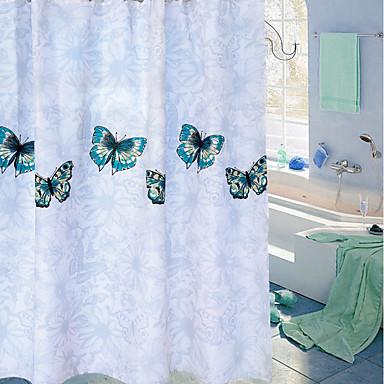 Shower Curtains & Hooks Çağdaş / Günlük PEVA Su Geçirmez / Sevimli / Yeni Dizayn