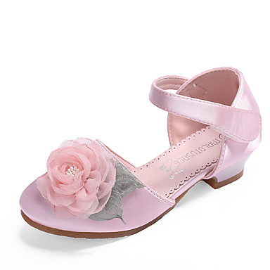 13d48202ff8c cheap Wedding Shoes-MRLOTUSNEE® Girls  Shoes Satin Summer   Fall Flower Girl  Shoes