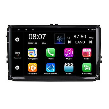 Factory OEM YYD-9010G 9 بوصة 2 Din Android 8.1 في اندفاعة دي في دي لاعب رباعية النواة إلى فولكسواجن RCA / صوت / GPS الدعم MOV / M3V / AMV MP3 / WMA / WAV JPEG / GIF / BMP