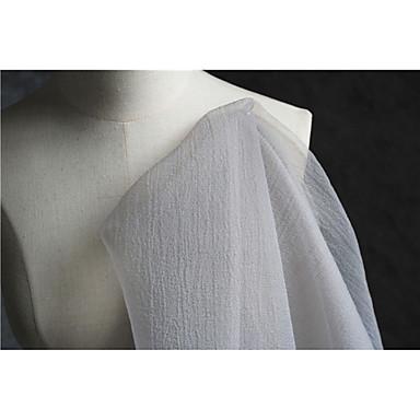 ผ้า Tulle ทึบ ไม่ยืดหยุ่น 140 cm ความกว้าง ผ้า สำหรับ เกี่ยวกับเจ้าสาว ขาย โดย 0.45m