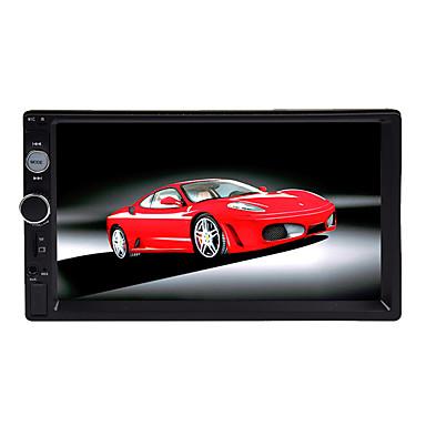 billige Bil Elektronikk-btutz LED 7 tommers 2 Din Alle Bil MP5-spiller Pekeskjerm til Universell / Volvo / Volkswagen Av Utgang / MikroUSB Brukerstøtte MPEG / AVI / WMV mp3 / WMA / WAV jpg