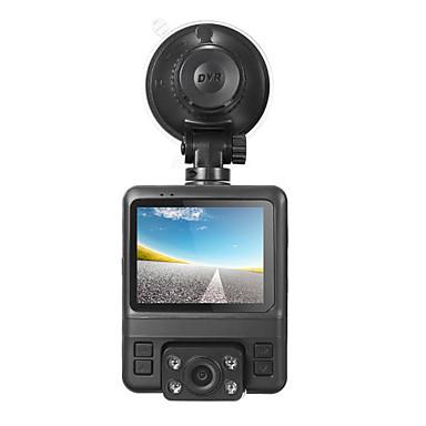 abordables DVR de Voiture-GS65H Lentille double / avec caméra arrière DVR de voiture 150 Degrés Grand angle 2.4 pouce LCD Dash Cam avec GPS / G-Sensor / Enregistrement du cycle en boucle Enregistreur de voiture