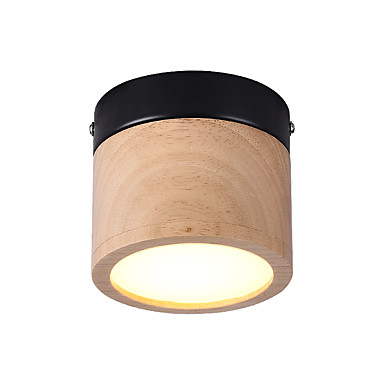 JSGYlights Upotettavat valaisimet Puu Puu / bambu Akryyli Minityyli, Uusi malli 85-265V