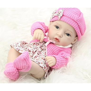 preiswerte Puppen-FeelWind Lebensechte Puppe Baby Mädchen 12 Zoll Ganzkörper Silikon - Kinder /  Jugendliche Kinder Unisex Spielzeuge Geschenk