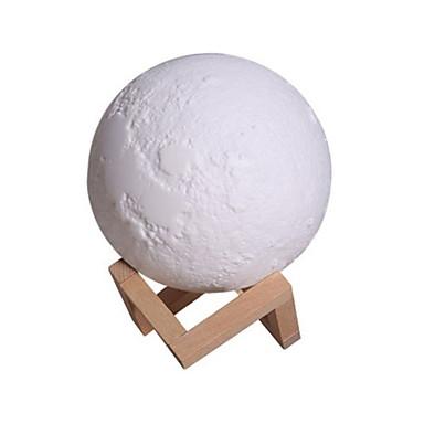 uutuus uusi 3d tulostaa kuu lamppu kuu kuun kevyt viileä sumu kostutin kotiin huone tutkimus jooga spa