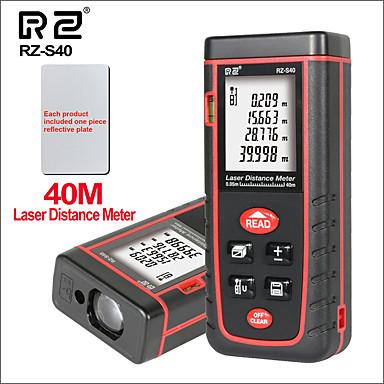 voordelige Test-, meet- & inspectieapparatuur-rz- laser afstandsmeter afstandsmeter afstandsmeter elektronische liniaal digitale meetlint gebied volume tool 40m