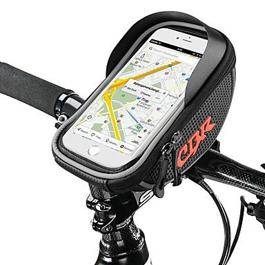 abordables Sacoches de Vélo-Sac de téléphone portable Sac Cadre Velo 6.2 pouce Etanche Cyclisme pour Cyclisme Noir Rouge Gris Foncé Activités Extérieures Cyclisme / Vélo Vélo Cyclisme