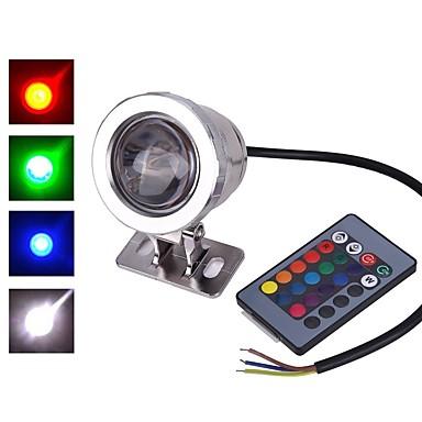 povoljno Vanjska rasvjeta-1pc 10w vodio poplavno svjetlo dimmable infracrveni senzor daljinski upravljač rgb 85-265v 12v vanjska rasvjeta dvorište vrt 1led perle
