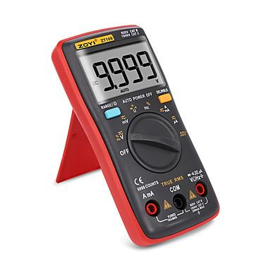 voordelige Test-, meet- & inspectieapparatuur-digitale multimeter palm-size true-rms 9999 telt vierkante golf achtergrondverlichting ac dc spanning ampèremeter huidige ohm auto / handleiding zt109