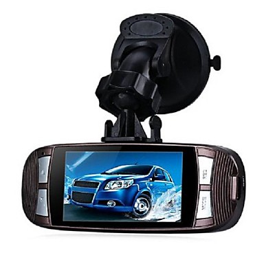 billige Bil-DVR-G1W-C HD / Trådløs Bil DVR 120 grader Bred vinkel 5 MP CMOS 2.7 tommers LCD Dash Cam med Innebygd Høytaler / Loop-cycle Recording / Automatisk tilkobling Bilopptaker