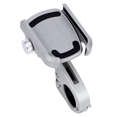 WEST BIKING® Polkupyörän puhelinteline Säädettävä / Sisäänvedettävä Liukkauden esto 360 asteinen lento varten Maantiepyörä Maastopyörä Aluminum Alloy iPhone X iPhone XS iPhone XR Pyöräily Valkoinen