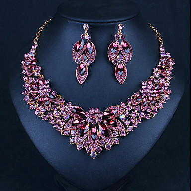 fc266b47319 Women s Cubic Zirconia Layered Jewelry Set Drop