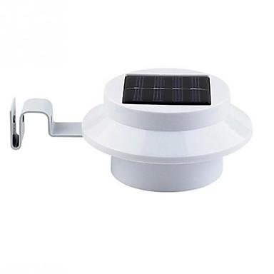1kpl LED Night Light Valkoinen Aurinkoenergia Vedenkestävä <5 V