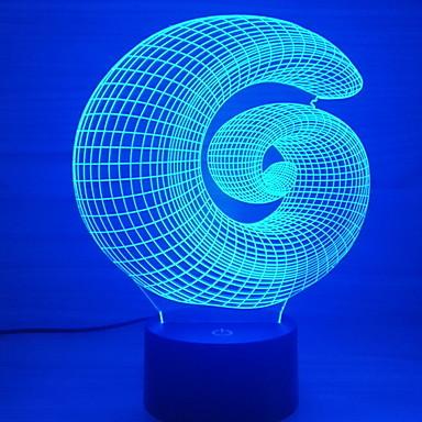 1kpl LED Night Light USB Luova <=36 V