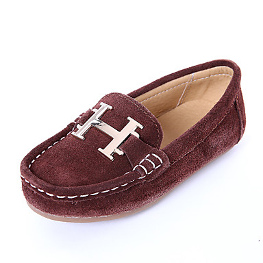 c35432f926c8 Boys  Shoes Suede Spring   Fall Comfort   Moccasin Loafers   Slip-Ons for  Kids   Teenager Black   Coffee   Blue