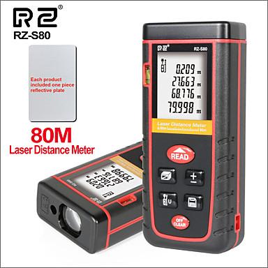 voordelige Test-, meet- & inspectieapparatuur-laser digitale afstandsmeter mini handheld draagbare afstandsmeter laser afstandsmeter rz-s80