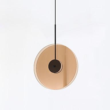 CONTRACTED LED® Geometrinen Riipus valot Tunnelmavalo Maalatut maalit Lasi Lasi Matta, Luova 110-120V / 220-240V