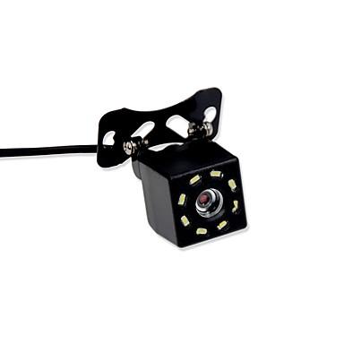billige Bil Elektronikk-BYNCG rear view camera 480TVL 480 TV-Lines 1/4 tommers CMOS OV7950 Med ledning 90 grader 3.5-12 tommers Bakside Kamera Vanntett / LED-indikator til Bil