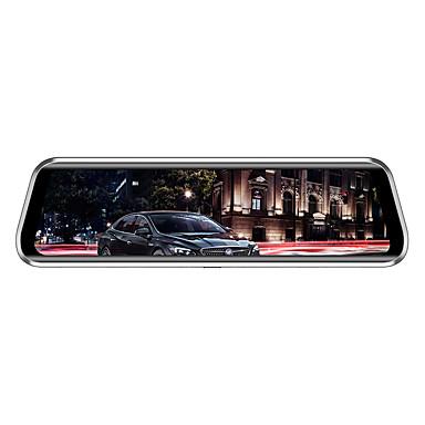 abordables DVR de Voiture-Anytek T900+ 1944p Design nouveau / Lentille double / Enregistrement automatique de démarrage DVR de voiture 170 Degrés Grand angle CMOS 2.0MP 9.7 pouce IPS Dash Cam avec G-Sensor / Mode Parking