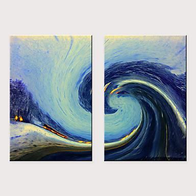 abordables Toiles-Imprimé Impressions sur toile roulées - Arts Vintage Theme Classique Trois Panneaux Art Prints
