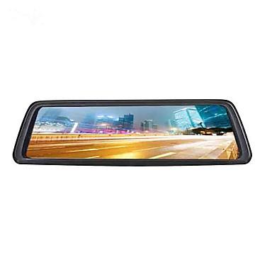 abordables DVR de Voiture-4g plein écran en continu multimédia voiture dvr 140 degrés grand angle 10 pouces ips cam tableau de bord avec wifi / gps / enregistreur de voiture de vision nocturne