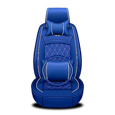 voordelige Auto-interieur accessoires-zakelijke voor achter universele auto stoelhoezen hoofdsteun & taille kussen kits luxe voertuigen accessoires voor universele / polyester / kunstleer / katoen