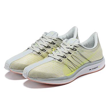 cc2a3660e6e Ανδρικά Παπούτσια άνεσης Ελαστικό ύφασμα Ανοιξη καλοκαίρι Αθλητικά Παπούτσια  Τρέξιμο Ανοικτό Κίτρινο / Αθλητικό